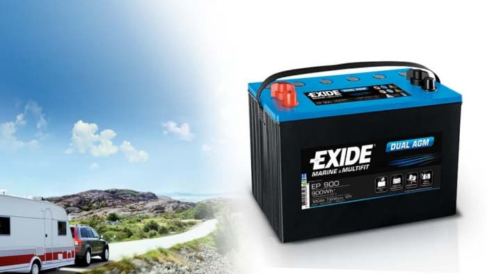 Akumulatory do kampera Exide Dual AGM