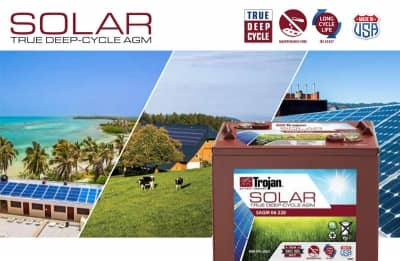 Akumulatory Trojan Deep-Cycle Solar AGM